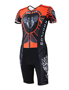 KOOPLUS® Tri Suit Women's / Men's / Unisex Short Sleeve Bike Breathable / Quick Dry / Moisture Permeability / WearableCoveralls /