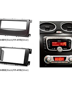 Radio Fascia Facia Trim installationssats för Ford Focus II Mondeo S-Max C-Max 2007 + Galaxy II 2006 + Kuga 2008 +