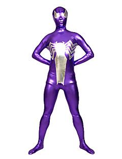 Purple Spider Unisex Spandex Lycra Zentai