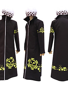Yksiosainen Trafalgar Law 2 Years cosplay-viitta