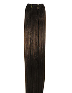 24inch Indian Remy Hair Weft Silky Straight Hair Weave 100g More Colors Avaliable
