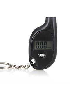Mini draagbare digitale LCD band band Wiel Luchtdrukmeter Tester Keychain Voor auto