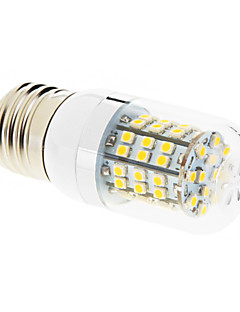 7W E26/E27 Ampoules Maïs LED T 60 SMD 2835 550-680 lm Blanc Chaud AC 100-240 V