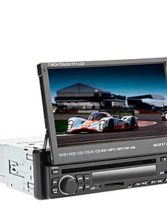 "7 ""LCD-Touchscreen 1-DIN Digital Panel Auto-DVD-Player-Unterstützung ipod, Bluetooth, Stereo-Radio, RDS, Touchscreen"