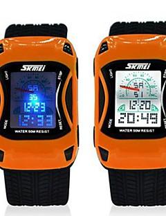 Skmei Kinder Sport-Multifunktions 5 ATM wasserdichte Uhr mit schwarzem Armband
