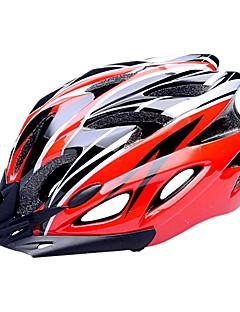 FJQXZ Women's / Men's / Unisex Road / Sports / Half Shell Bike helmet 18 Vents Cycling Cycling Medium: 55-59cm / Large: 59-63cm PC / EPS