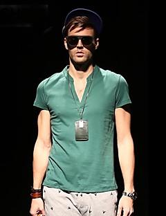 Viishow Mænds V Neck Casual Bomuld Kortærmet Slim T Shirt TD14442
