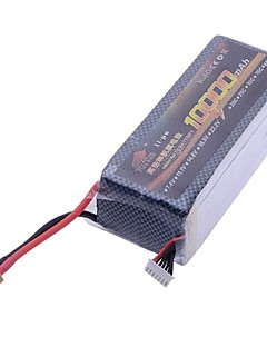 22.2V 10000mAh 30C 6-cellet Li-Poly batteri til RC Octocopter