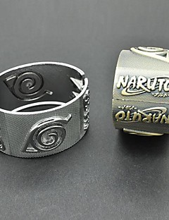 Naruto Uzumaki Naruto Foglie di Legno Simbolo Accessori Cosplay Bracelet