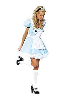 Costumi Cosplay Vestito da Serata Elegante Da principessa Fiabe Feste/vacanze Costumi Halloween Blu Collage Abito Halloween Carnevale