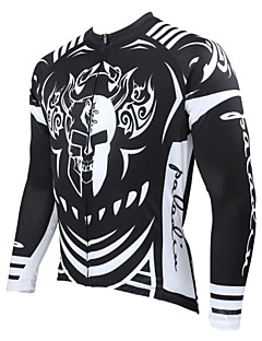 PALADIN® Cycling Jersey Men's Long Sleeve Bike Breathable / Thermal / Warm / Quick Dry / Ultraviolet Resistant Jersey / Tops100%