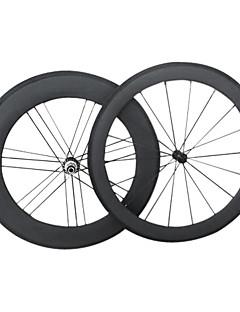 Yanbo 700C super kvalitet karbon hjulsett 60C 88 C G3 hjulsett 18/21 hull / Sykkel hjulsett