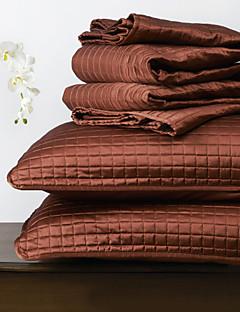huani® quilt sæt, 3 stk plaid rød polyester
