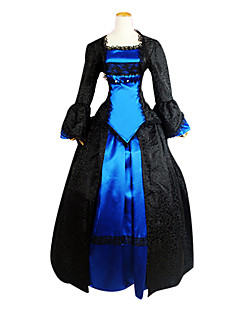 Elegante Palazzo della principessa del merletto del nero Gothic Lolita Dress