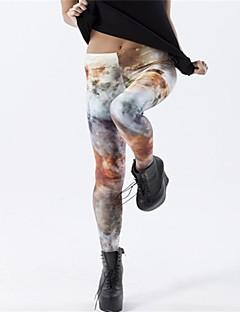 PinkQueen® Women's Spandex Rock Hole Printing Leggings