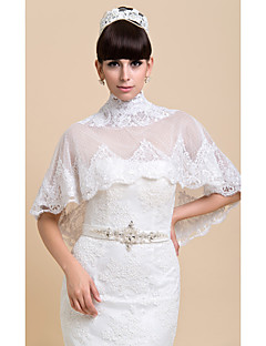 Wedding / Party/Evening Lace Ponchos Wedding  Wraps