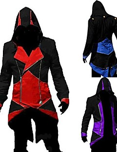 video game traje assassinator o hoodie cosplay