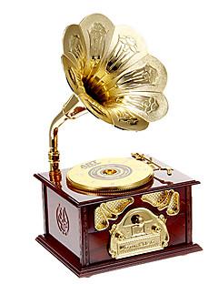 disque jouet don musical du plateau tournant (couleur aléatoire)