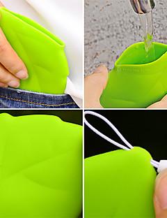 Stilul frunze portabil ceașcă de buzunar