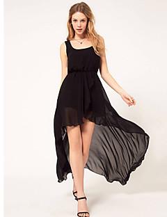 org kvinders mesh chiffon vest mesh lang kjole