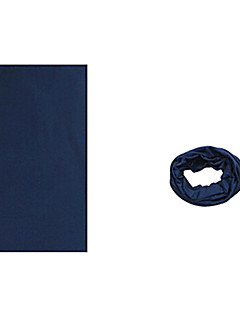 KORAMAN Summer Pure Navy Blue Cycling Sun-Proof Magic Scarf Headband