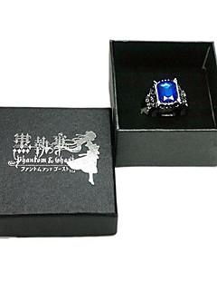 Kuroshitsuji Ciel Phantomhive Saphir-Ring Cosplay Zubehör