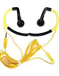 3.5mm האוניברסלי ג'ק Earhook אוזניות / מיקרופון עבור iPhone HTC סמסונג ואחרים (צבעים שונים)
