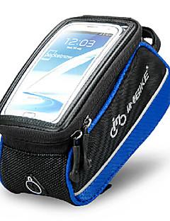 Bolsa Celular / Bolsa para Guidão de Bicicleta (Azul / Preto , Poliéster / PVC / EVA) Á Prova-de-Água / Vestível / Touch Screen Ciclismo