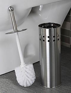 Orange ® Bath Accessory Set rustfrit stål Toiletbørste Holder 1stk D11.5 * H42CM
