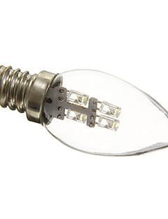 0.5W E12 LED Kerzen-Glühbirnen C35 3 15-20 lm Natürliches Weiß Dekorativ AC 220-240 V