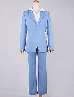 Inspirerad av Durarara Masaomi Kida Animé Cosplay Kostymer/Dräkter cosplay Suits Enfärgat Blå Lång ärm Kappa / Byxor