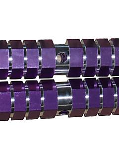 domnt 1 par bmx sykkel aluminiumslegering bak foraksel lilla faste fothvilere