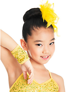 ダンスアクセサリー ヘッドピース 子供用 訓練 スパンデックス