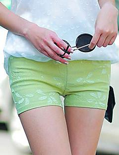 Frauen Sexy, figurbetontes Stretch Shorts