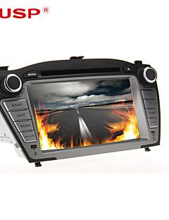 kusp ® 7 tum 2DIN bil dvd-spelare för hyundai tucson IX35 2009-2013 stöd gps, bt, rds, lek, ipod