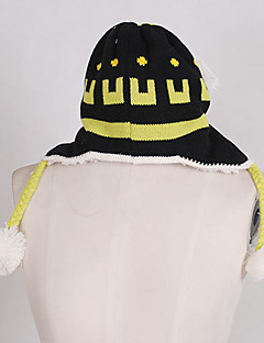 Hat/Cap Inspired by Dramatical Murder Noiz Anime/ Video Games Cosplay Accessories Hat Black Woolen Male
