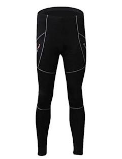 Realtoo מכנסי רכיבה לנשים לגברים יוניסקס אופניים טייץ רכיבה על אופניים מכנסיים תחתיות נושם שמור על חום הגוף ייבוש מהיר בטנת פליזספנדקס