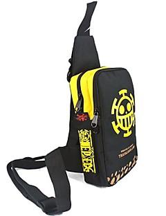 Bag Inspired by One Piece Trafalgar Law Anime Cosplay Accessories Bag Black Canvas Male / Female
