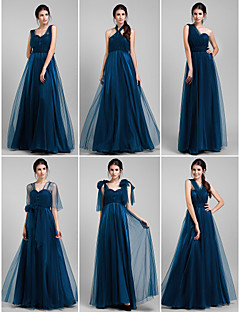 Convertible Dress Floor-length Tulle A-line Dress (1739560)