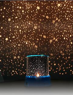 sterrenhemel projector kleurrijke LED-nachtlampje (willekeurige kleur, aangedreven door 3 AA-batterij)