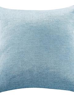 "18 ""x18"" himmelsblå superfin chenille polyester örngott"