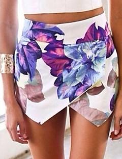Sexig Shorts Byxor Kvinnors Oelastisk Bomull / Polyester