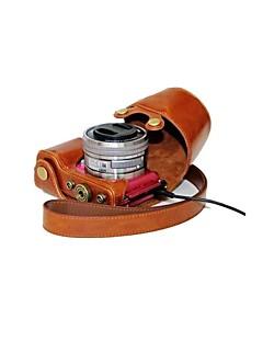 cuir dengpin® appareil photo Housse de protection style sac de charge pour sony alpha A5000 A5100 ILCE-5100l nex-3n