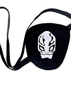 rinato! cromo dokuro modello cranio cosplay nero maschera per gli occhi