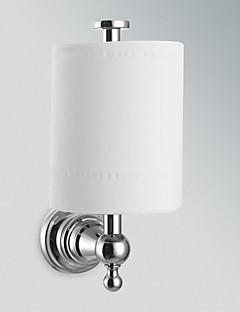 """Držák na toaletní papír Chrom Na ze´d 180 x 135 x 75mm (7.08 x 5.31 x 2.95"""") Mosaz Moderní"""