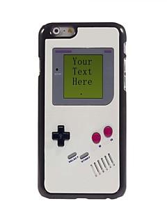 """아이폰 6에 대한 개인화 된 선물 게임 콘솔 디자인 금속 케이스 (4.7 """")"""