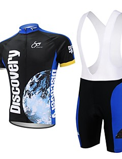 XAOYO® Cycling Jersey with Bib Shorts Men's Short Sleeve Bike Quick Dry / Back Pocket Shorts / Jersey / Clothing Sets/SuitsPolyester /