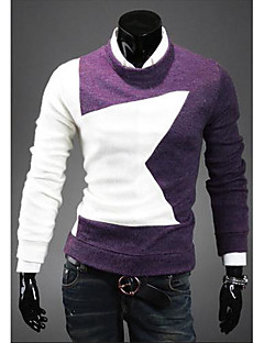 PIKE Men's New Arrival Contrast Color Sweater