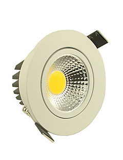 5 W 1 COB 500-550 LM Warm White/Cool White Dimmable Ceiling Lights AC 220-240 V