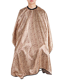 Modern Fashion Golden Leopard Haircut Cape(1pc)